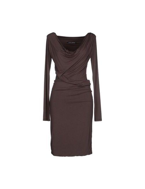 European Culture | Женское Какао Платье До Колена