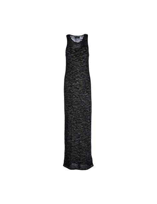 Diesel | Женское Серое Длинное Платье