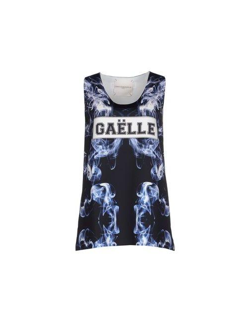 Gaëlle Bonheur | Женский Чёрный Топ Без Рукавов