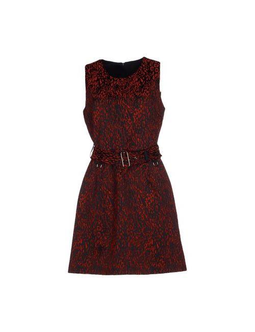ATOS LOMBARDINI | Женское Красное Короткое Платье