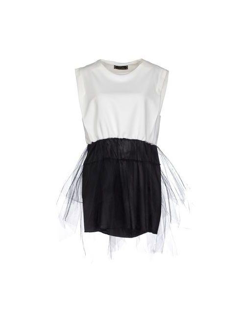 Minimal | Женское Белое Короткое Платье