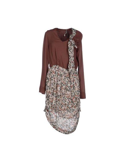 Manila Grace | Женское Какао Платье До Колена