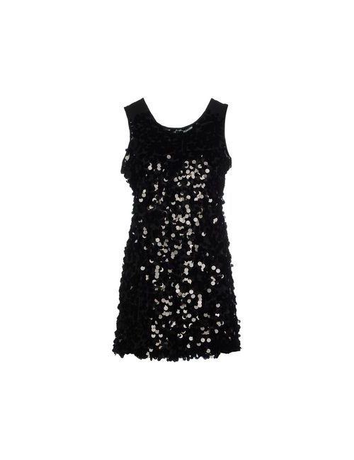 Duck Farm   Женское Чёрное Короткое Платье