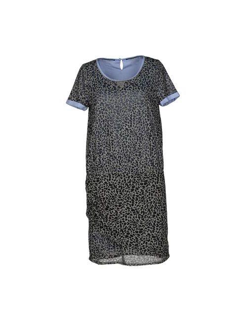 Maison Scotch | Женское Серое Короткое Платье