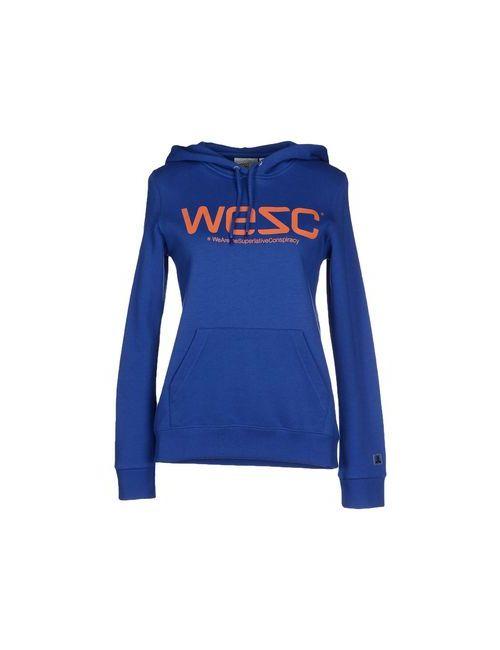 Wesc | Женская Синяя Толстовка