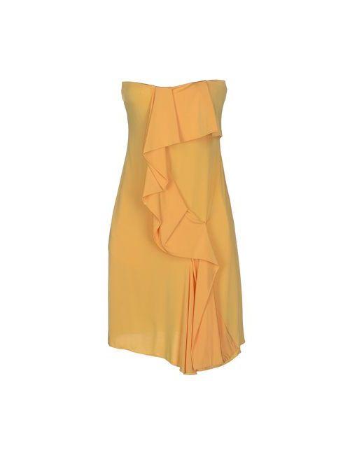 Relish   Женское Жёлтое Короткое Платье