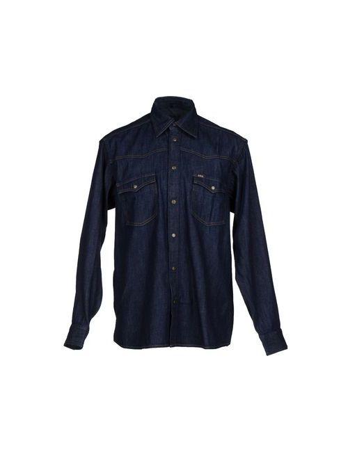 Rifle | Мужская Синяя Джинсовая Рубашка