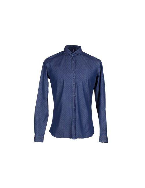 COSTUMEIN | Мужская Синяя Джинсовая Рубашка
