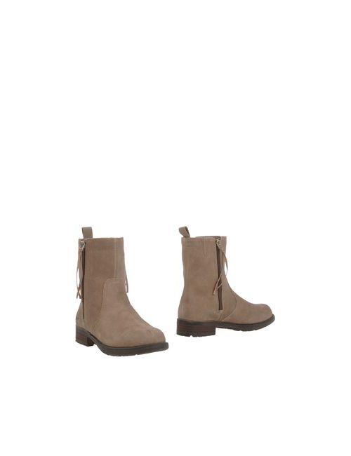 DKNY | Женские Хаки Полусапоги И Высокие Ботинки