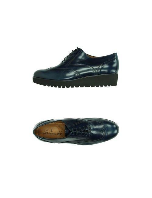 Maritan G | Женская Синяя Обувь На Шнурках