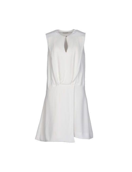 Mugler | Женское Белое Короткое Платье