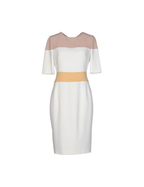 Aquilano-Rimondi | Женское Белое Платье До Колена