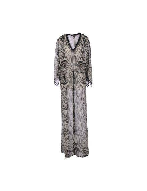 Roberto Cavalli   Женское Серое Длинное Платье