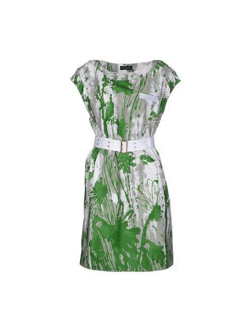 Piazza Sempione   Женское Зелёное Платье До Колена