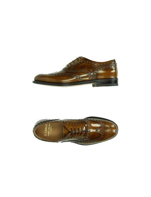 Il Gergo | Женская Коричневая Обувь На Шнурках