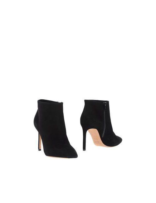 Vince | Женские Чёрные Полусапоги И Высокие Ботинки
