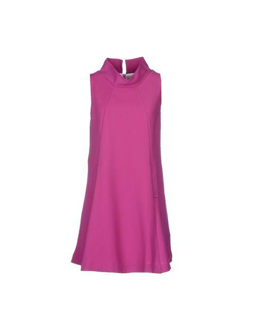 Maison Olivia | Женское Фуксия Короткое Платье