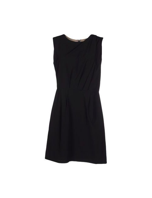 Bonsui   Женское Чёрное Короткое Платье