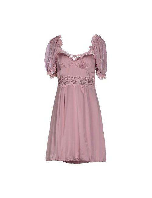 Scervino Street   Женское Розовое Короткое Платье