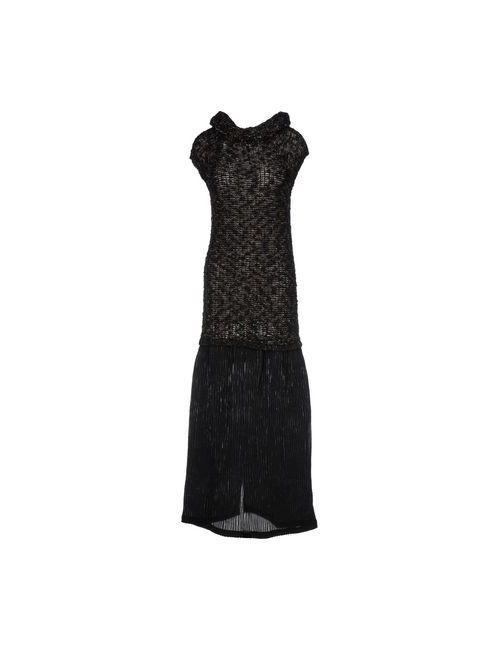 Gotha   Женское Чёрное Длинное Платье