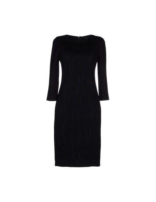 Mariella Rosati | Женское Чёрное Платье До Колена