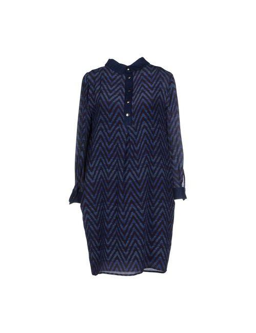 Mariella Rosati | Женское Синее Короткое Платье