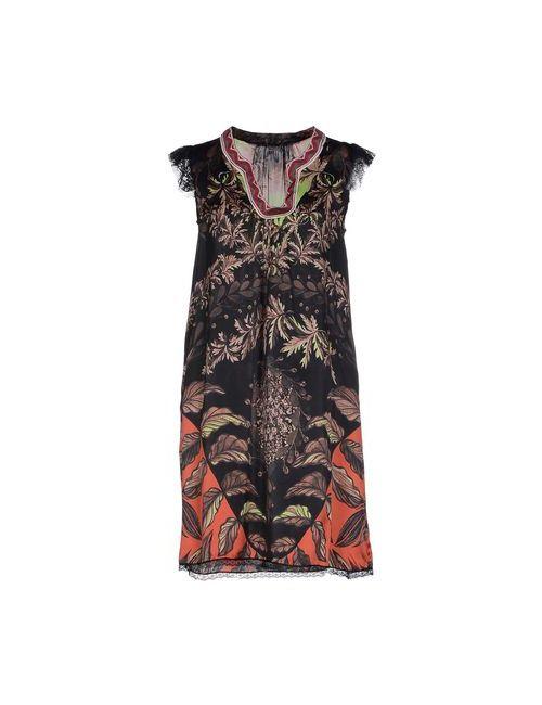 Custo Barcelona | Женское Чёрное Короткое Платье
