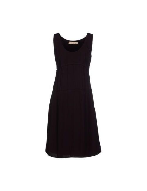 Marni | Женское Коричневое Короткое Платье