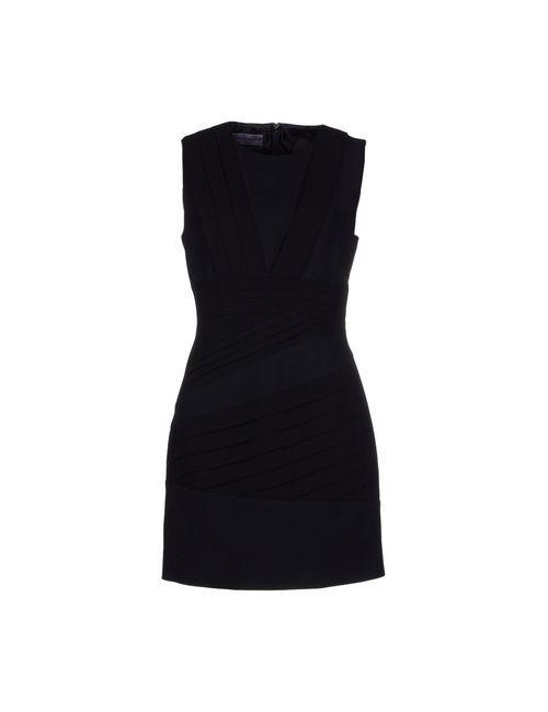 Emanuel Ungaro | Женское Чёрное Короткое Платье