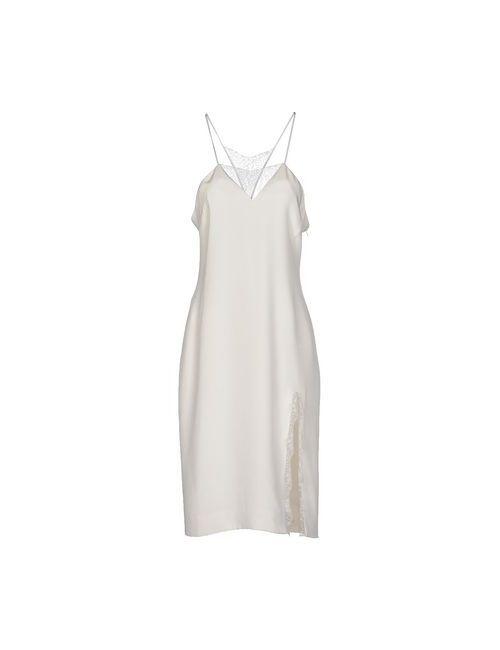 TAMARA MELLON | Женское Слоновая Костящее Платье До Колена