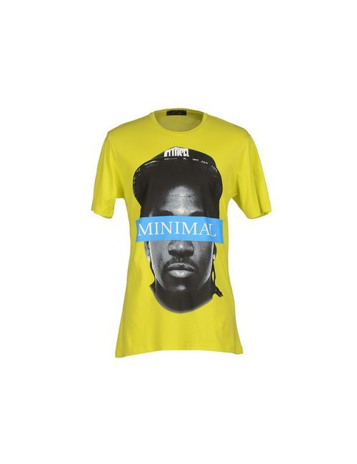 Minimal | Мужская Жёлтая Футболка