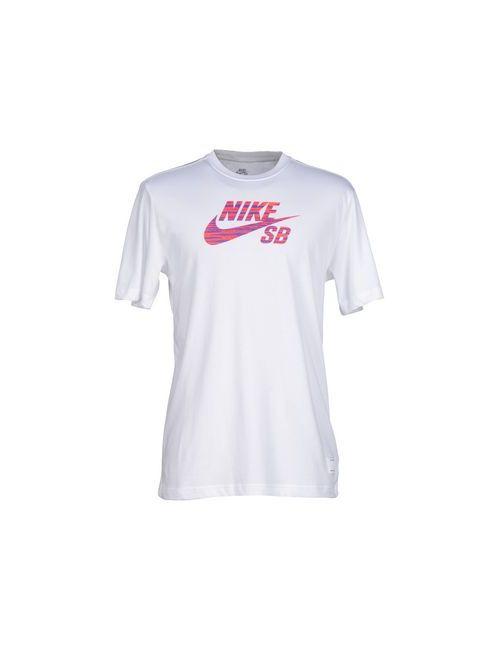 Nike | Мужская Белая Футболка