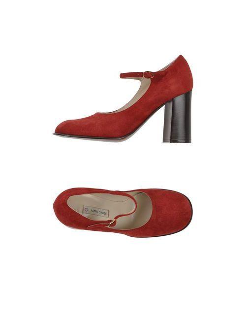 L' Autre Chose | Женские Красные Туфли
