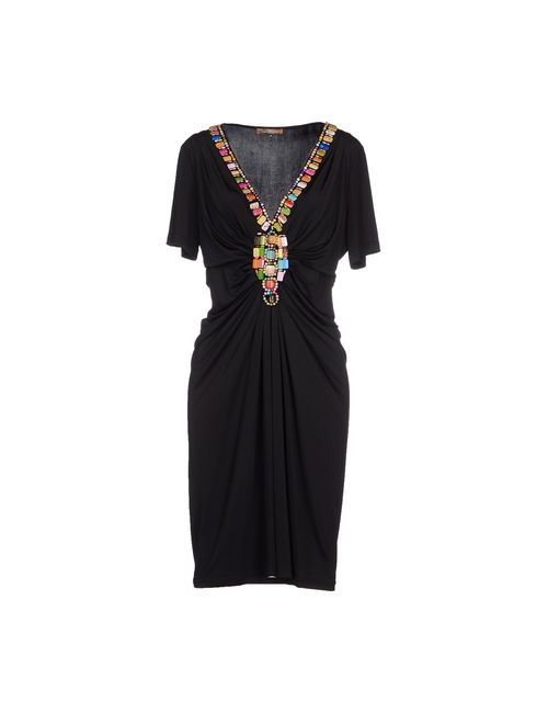 Jolie Carlo Pignatelli   Женское Чёрное Короткое Платье