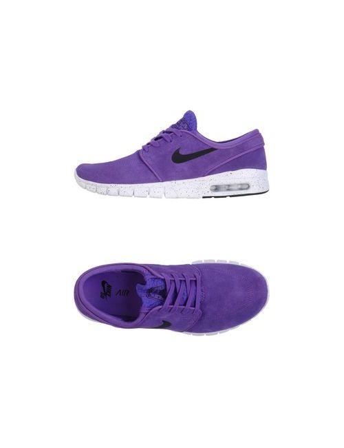 Nike | Женские Фиолетовые Низкие Кеды И Кроссовки