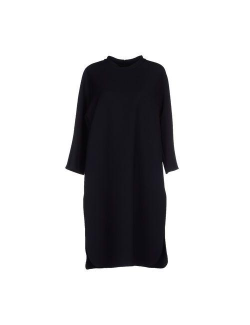 Sofie D'Hoore | Женское Чёрное Платье До Колена