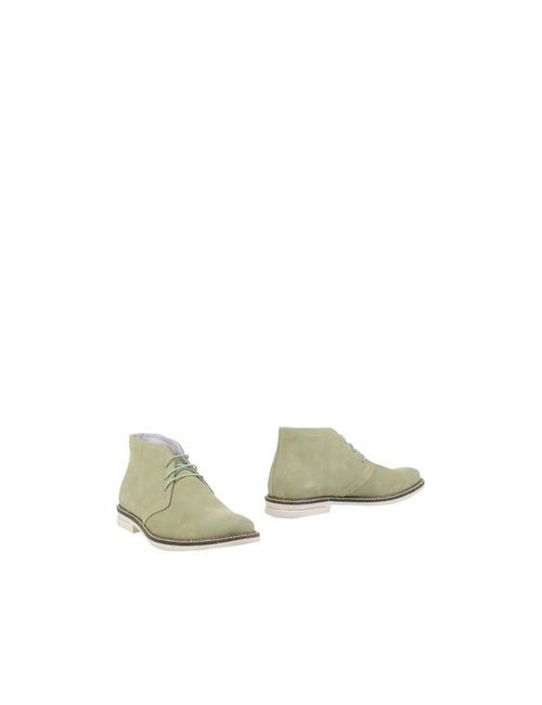 BAGE | Мужские Зелёные Полусапоги И Высокие Ботинки
