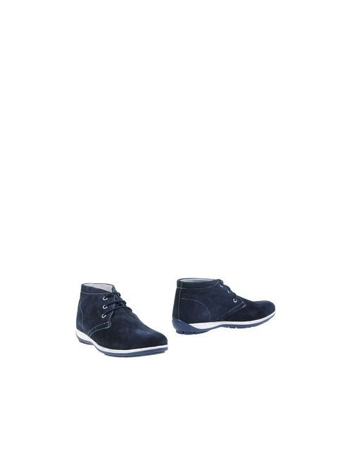 BAGE | Мужские Синие Полусапоги И Высокие Ботинки