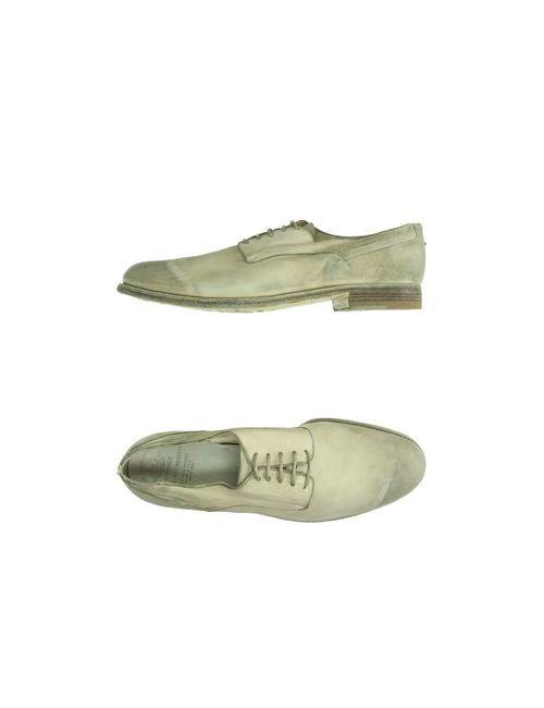 Officine Creative | Мужская Серая Обувь На Шнурках