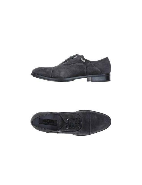 Cesare Paciotti   Мужская Серая Обувь На Шнурках