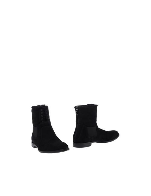 Cesare Paciotti   Мужские Чёрные Полусапоги И Высокие Ботинки