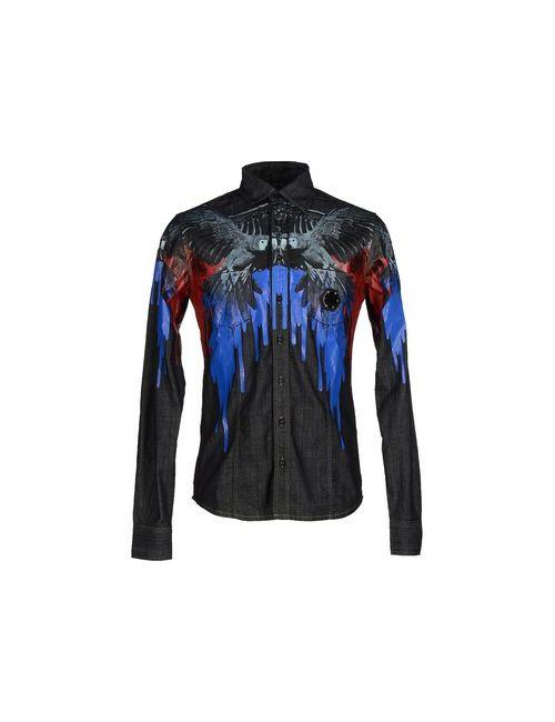 Philipp Plein | Мужская Синяя Джинсовая Рубашка