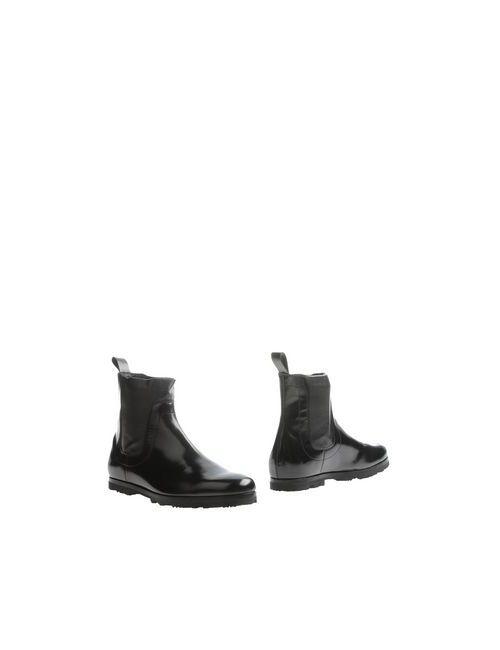 Bikkembergs | Мужские Чёрные Полусапоги И Высокие Ботинки