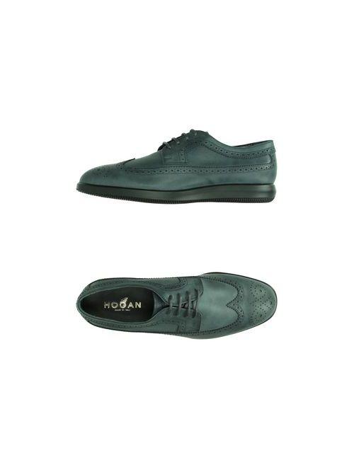 Hogan | Мужская Синяя Обувь На Шнурках