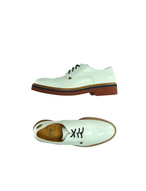 PACIOTTI 308 MADISON NYC | Мужская Белая Обувь На Шнурках