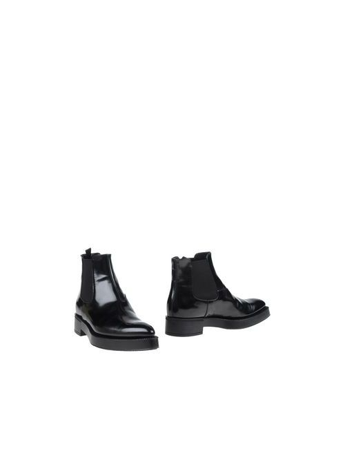 Prada | Женские Чёрные Полусапоги И Высокие Ботинки