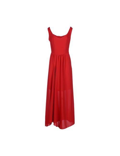 Angela Mele Milano | Женское Красное Длинное Платье