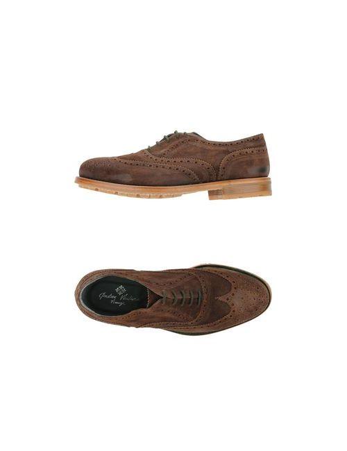 Andrea Ventura Firenze | Мужская Какао Обувь На Шнурках