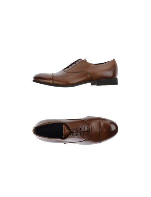 Raparo | Мужская Какао Обувь На Шнурках
