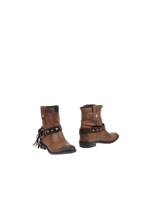 Gaudi' Shoes | Женские Какао Полусапоги И Высокие Ботинки